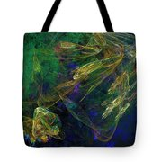 Jelly Fish  Diving The Reef Series 1 Tote Bag