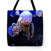 Jellyfish Action Tote Bag