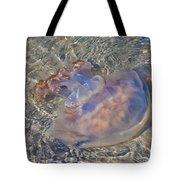 Jellyfish Tote Bag by Betsy Knapp