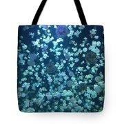 Jellyfish Collage Tote Bag