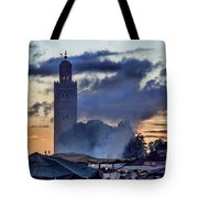 Jemaa El Fna Square  Tote Bag