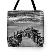 Jennings Beach Dock Tote Bag
