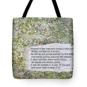 Jeremiah 17 Tote Bag