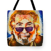 Jerry Garcia-dark Star Tote Bag