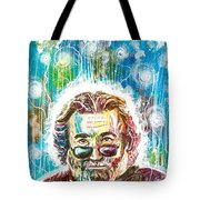 Jerry Garcia Tote Bag