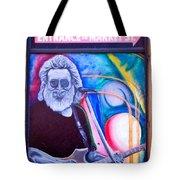 Jerry Garcia - San Francisco Tote Bag