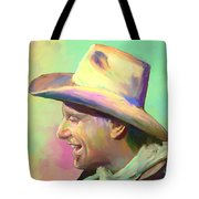 Jerry Jeff The Gypsy Songman Tote Bag