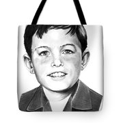 Jerry Mathers-as The Beaver-murphy Elliott Tote Bag