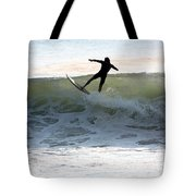 Jersey Surfing Tote Bag
