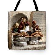 Jerusalem - Bread Seller Tote Bag