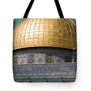 Jerusalem - Dome Of The Rock Tote Bag