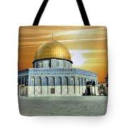 Jerusalem - The Light Tote Bag