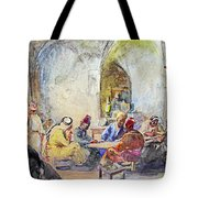 Jerusalem Cafe Tote Bag