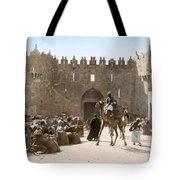 Jerusalem: Caravan, C1919 Tote Bag