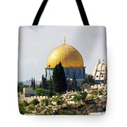 Jerusalem Dome Of The Rock  Tote Bag