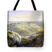 Jerusalem From The South Tote Bag
