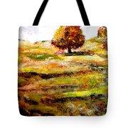 Jerusalem Hills Tote Bag