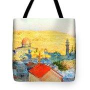 Jerusalem In 1899 Tote Bag