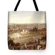 Jerusalem In Her Grandeur Tote Bag by Henry Courtney Selous
