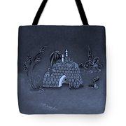 Jerusalem Israel In Cyan Tote Bag