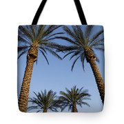 Jerusalem Palms Tote Bag