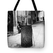 Jerusalem: Roman Pillar Tote Bag