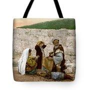 Jerusalem Shoemaker, C1900 Tote Bag