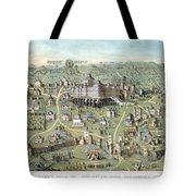Jerusalem: Solomons Temple Tote Bag