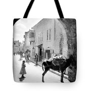 Jerusalem Street In 1914 Tote Bag