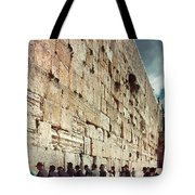Jerusalem  Wailing Wall - To License For Professional Use Visit Granger.com Tote Bag