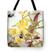 Jessamine Bee Mine Tote Bag