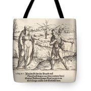Jesse Sends David To His Brothers And Saul Tote Bag