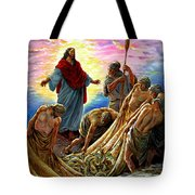Jesus Appears To The Fishermen Tote Bag