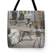Jesus Bearing The Cross Tote Bag