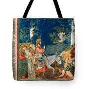 Jesus Entering Jerusalem Tote Bag