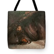 Jesus Falls The Second Time Tote Bag