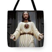Jesus Figure Tote Bag