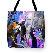 Jesus From Cross Tote Bag