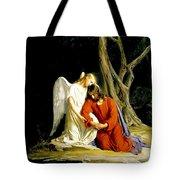 Jesus In Gethsemane Tote Bag