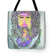 Jesus King Of Peace Tote Bag