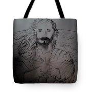 Jesus Light Of The World Full Tote Bag