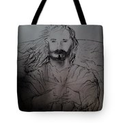 Jesus Light Of The World Full Tote Bag