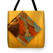 Jesus Meets His Mother Mary - Tile Tote Bag