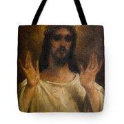 Jesus Meets The Daughters Of Jerusalem. Jesus Comfort Them. 8. Station Of The Cross Tote Bag