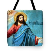 Jesus Message Tote Bag