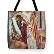 Jesus & Moneychanger Tote Bag