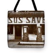 Jesus Saves 1973 Tote Bag