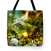Jesus Wept Tote Bag by Skip Hunt