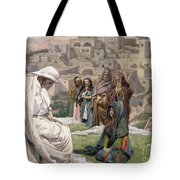 Jesus Wept Tote Bag by Tissot