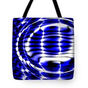 Jet Blue Tote Bag